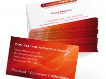 Lawes Marsh Business Card Design